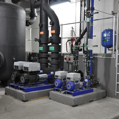 Heizkreis- und Kühlwasserpumpen